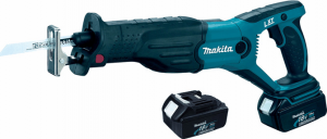 Пила сабельная аккумуляторная MAKITA DJR 181 RFE