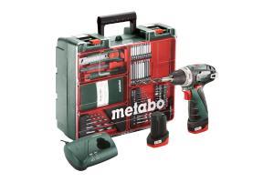 Аккумуляторная дрель-шуруповерт METABO PowerMaxx BS Basic Set