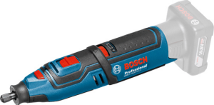 Шлифмашина прямая аккумуляторная BOSCH GRO 10.8 V-LI   без АКБ и ЗУ